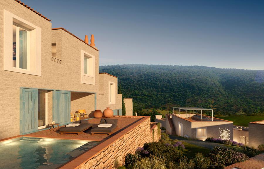 Alcedo Villa uitzicht Ombria Resort