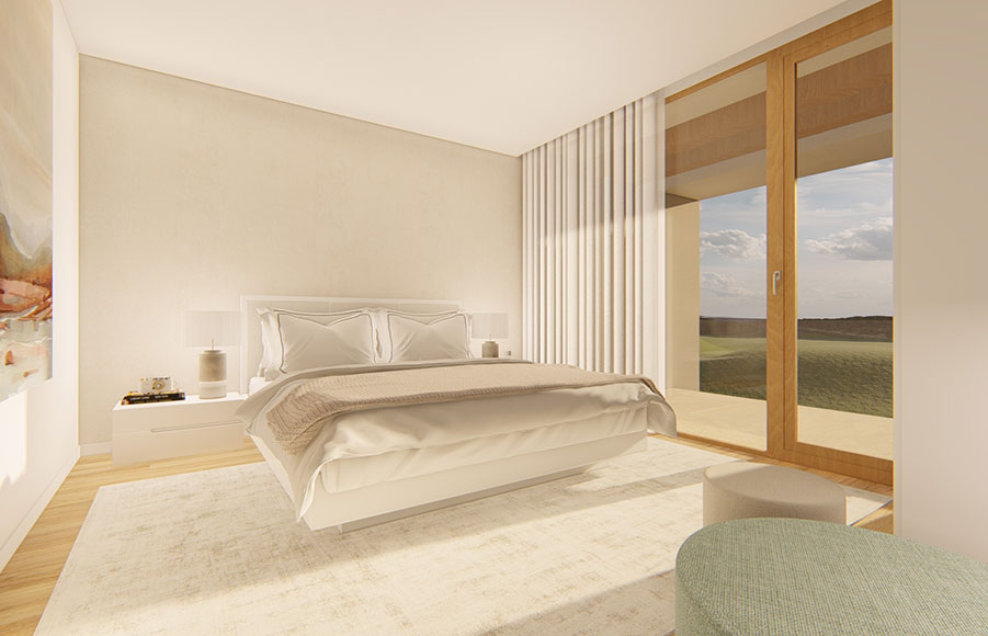 White Shell appartementen villa Algarve inside