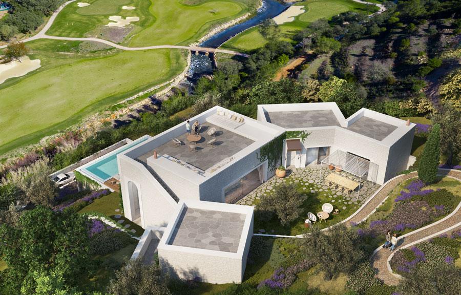 White Shell appartementen villa Algarve tuin