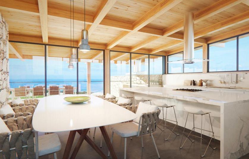 West Cliffs Resort villa kavels